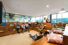 image of google office. google campus in dublin dazzles with color and creativity office cozy image of