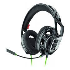 Гарнитура <b>Plantronics RIG 300</b> HX черный/зеленый 1.5м ...