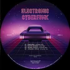 ( DTL 003 ) MARIUS - <b>Electronic</b> Cyberfunk EP (<b>180gr</b> vinyl 12 ...