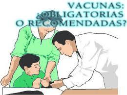 Resultado de imagen para vacunacion obligatoria