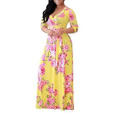 Plus size <b>s5xl</b> women <b>robe summer</b> printed <b>maxi dress</b> boho <b>dress</b> ...