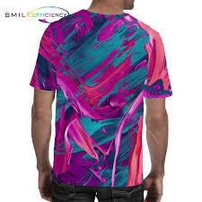 <b>Novelty</b> Colorful Art Summer 2019 Mens Fashion Streetwear 3d ...