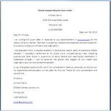 dental assistant cover letter dental assistant resume cover letter cover letter examples dental assistant