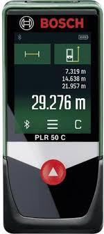 Лазерный <b>дальномер Bosch PLR 50</b> C