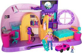 """Игровой набор с куклой <b>Polly Pocket</b> """"<b>Комната Полли</b>"""", FRY98 ..."""