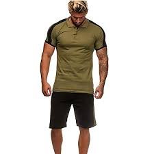Amazon.com: <b>Men's</b> 2 Piece Outfits, <b>Summer</b> Outfits Sets Short ...