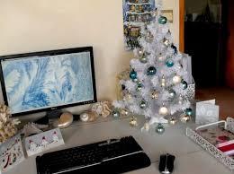 office xmas tree christmas tree office desk