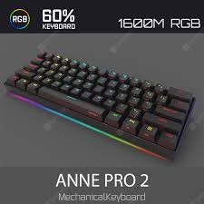 ANNE PRO 2 60 Percent NKRO Full RGB Mechanical Gaming ...