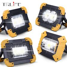 <b>20W Led Portable</b> Spotlight Work Light <b>USB Rechargeable LED</b> ...