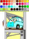 Играть онлайн бесплатно раскраски тачки