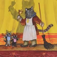 Аудио сказка <b>Кошкин дом</b>. Слушать онлайн или скачать