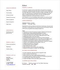 sample copy editor resume     free documents download in pdf  wordsample content copy editor resume
