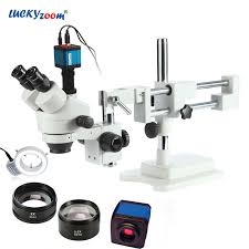 <b>Lucky Zoom</b> Brand 3.5X 90X! Double Boom Stand Stereo Zoom ...