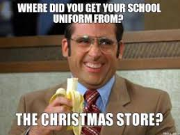 Uniform Jokes | Kappit via Relatably.com