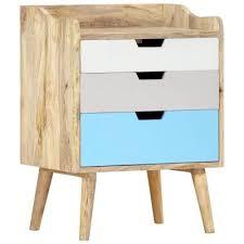 <b>Bedside Cabinet</b> Grey 40x35x40 cm Fabric Sale, Price & Reviews ...