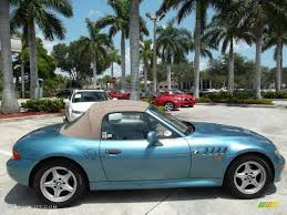 1998 z3 19 roadster atlanta blue metallic beige photo 5 atlanta blue metallic 1996
