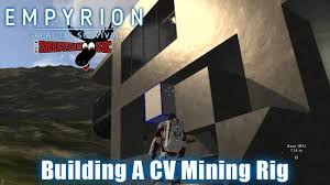 empyrion galactic survival challenge build a mining cv