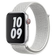 <b>Ремешок Krutoff Nylon</b> для Apple Watch 38/40mm (reflective white ...