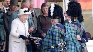 لندن - ملكة بريطانيا تزور اسكتلندا بعد التصويت بالخروج من الاتحاد الأوروبي