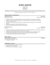 premade resume formats