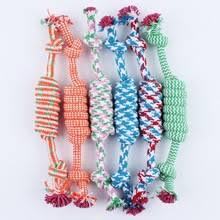 Игрушка <b>хлопковая веревка для</b> щенка и собаки, плетеная ...