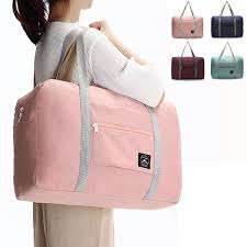 Women <b>Men</b> Folding Waterproof Luggage <b>Bags</b> Unisex <b>Fitness Bag</b> ...