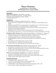 finance major resumes template finance major resumes