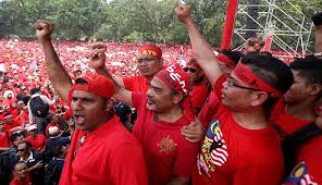 Image result for UMNO Red Shirts
