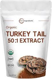 Sustainably US Grown, Organic <b>Turkey Tail Mushroom Powder</b> (50:1