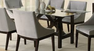 Glass Dining Room Tables Round Glass Top Dining Table Set Chairs Decor Ideasdecor Ideas Idea