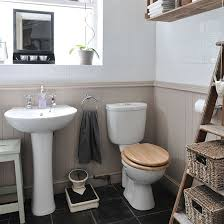 tongue groove panelling housetohomecouk neutral bathroom with panelling bathroom decorating ideal home houseto