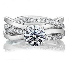 """<b>925 Sterling Silver</b> """"Endless Love"""" <b>1ct</b> Infinity Wedding Engagement ..."""