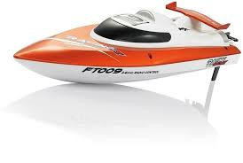 <b>Радиоуправляемый катер Fei Lun</b> High Speed Orange Boat 2.4 ...