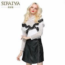 <b>New Women's</b> Skirts Lace Patchwork Buttons <b>Sexy</b> Split Mini Skirt ...