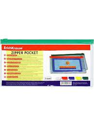 <b>ZIP</b>-<b>пакет</b> пластиковый <b>PVC</b> Zip Pocket, Travel, прозрачный (в ...