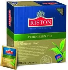 """<b>Чай Riston</b> (Ристон) """"<b>Pure Green</b> Tea"""", <b>зеленый</b>, 100 пакетиков по ..."""