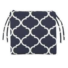 landview navy rectangular outdoor seat cushion cbe heated cooled chair
