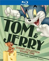 Tom and Jerry The Golden Collection Volume One Blu ray