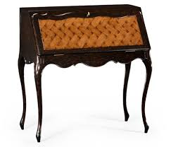 image of french style bureau with parquet fall front art deco style rosewood secretaire 494335