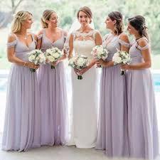 <b>Elegant Spaghetti Straps Chiffon</b> Long Bridesmaid Dresses 2019 ...