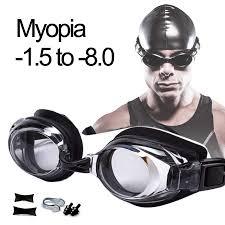 <b>Swimming Goggles</b> Diopters Anti fog Myopia <b>Swimming Glasses</b> ...
