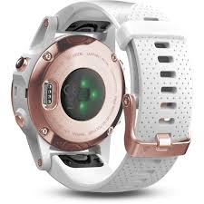 <b>Garmin Fenix 5S</b> Sports Watch with White Band (<b>Sapphire</b> Rose Gold)