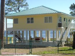 Flood and Hurricane Resistant Buildings   Bldg Sci CorpPhoto    New home Florida panhandle