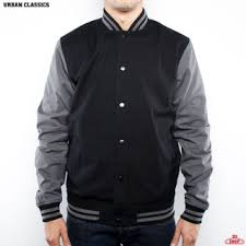 <b>ВЕТРОВКА URBAN CLASSICS</b> COTTON COLLEGE JACKET