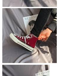 <b>classic shoes</b> high top <b>Canvas Shoes Women</b> Breathable ...