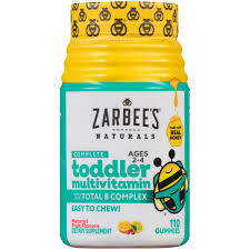 Zarbee's Naturals <b>Complete Toddler Multivitamin</b>, Natural Fruit ...