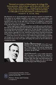 berryman s sonnets john berryman daniel swift bernard berryman s sonnets john berryman daniel swift bernard 9780374534547 com books