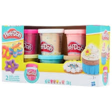 «Пластилин Hasbro <b>Набор</b> пластилина, 6 банок конфетти ...