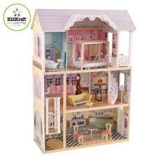 Купить <b>Трехэтажный дом из</b> дерева для Барби <b>KidKraft</b> «Кайли ...