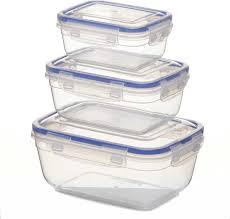 <b>Набор пищевых контейнеров</b> StarPlast, 94071, <b>3</b> шт
